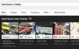 New Google Local Listings Carousel Showcases 7 Results Above the Fold - Search Engine Watch | Google+ Local & 360 Degree Google Virtual Tour | Scoop.it