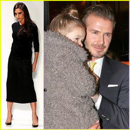Victoria Beckham: David & Kids Sit Front Row at Fashion Show ...   Acting Training   Scoop.it