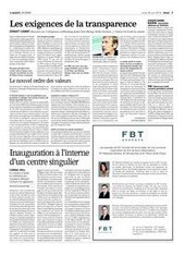 Les exigences de la transparence | Agefi.com | Servant leadership, ethics based business policies and governance | Scoop.it