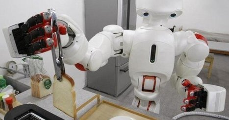 14 surprising jobs that robots are doing | Infinite Playground on a Finite Planet | Scoop.it