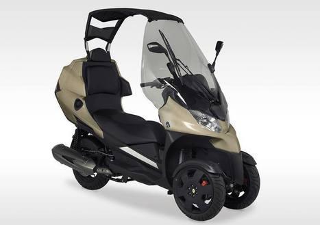 Lancement au Japon de l'Adiva AD3, le scooter trois-roues découvrable | Scooter's news | Scoop.it