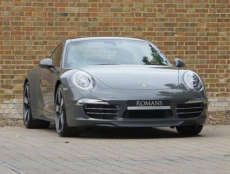 2014/14 Porsche 911 50th Anniversary for sale | Graphite Grey | Pubs & Restaurants | Scoop.it