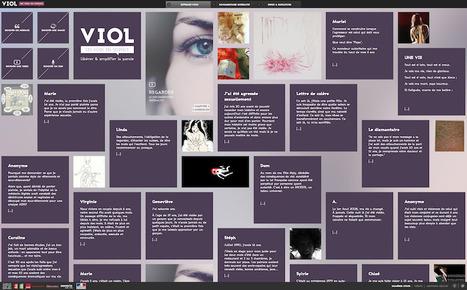 «Viol, les voix du silence» : le webdoc qui donne la parole aux victimes | les web documentaires, nouvel outil d'information-communication | Scoop.it