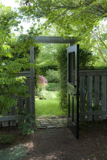 Garden gate and the beauty beyond it | wrought iron gate's journal | Scoop.it