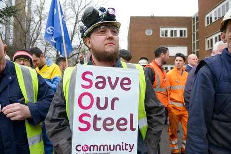 Le Royaume-Uni se mobilise pour sauver sa sidérurgie | Forge - Fonderie | Scoop.it