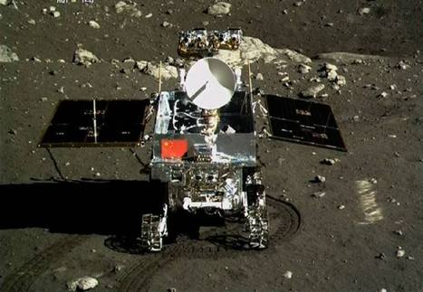 Chinese rover and lander beam back portraits from Moon's surface - Astronomy Magazine | Sci-fi geek: My alter ego! | Scoop.it