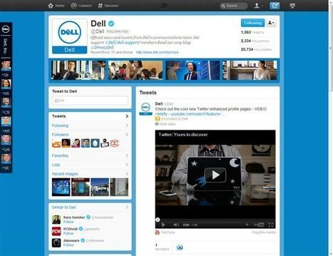 @Dell pumped to be part of Twitter's Enhanced Profile Page rollout - Direct2Dell - Direct2Dell - Dell Community | SM | Scoop.it