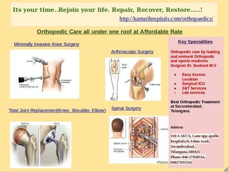 Hip Replacement Hyderabad | Best Orthopedic Hospital Telangana | Joint Replacement surgery India | Best Orthopedic Treatment, Secunderabad, Telangana | Scoop.it