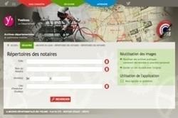 Les répertoires des notaires en ligne sur le portail des Yvelines | Rhit Genealogie | Scoop.it