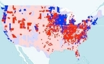 What Parts of the Country Are Diligent About Sending Back Their Census Forms? | Maps are Arguments | Scoop.it