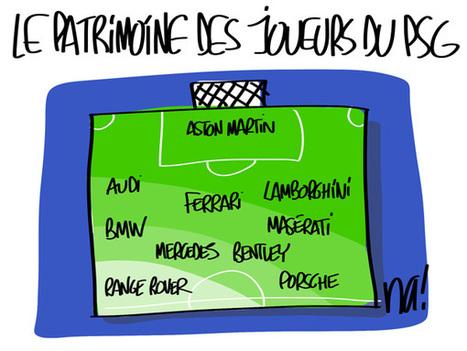 Le patrimoine des joueurs du PSG | LAFORET MOLSHEIM | Scoop.it