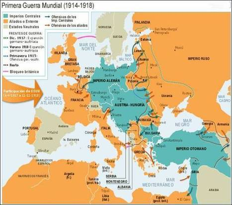 PRIMERA GUERRA MUNDIAL | 1ªguerra mundial | Scoop.it