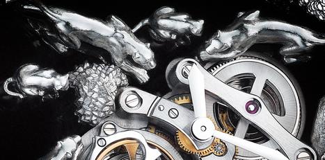 Cartier announced the Microsculpture Scène Panthères Watch | Cartier | Scoop.it
