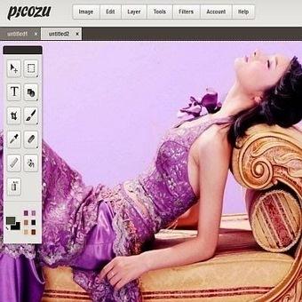 Picozu - Un éditeur complet pour retoucher ses images en ligne | Retouches et effets photos en ligne | Scoop.it