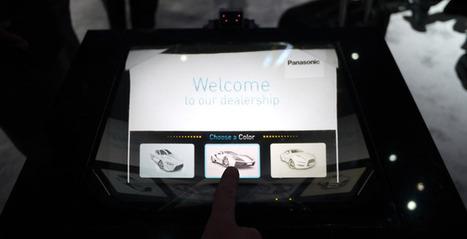 Panasonic présente un hologramme tactile au CES 2014 | Community Management | Scoop.it