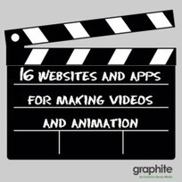 16 Websites and Apps for Making Videos and Animation - graphite | iPads in Education | Scoop.it