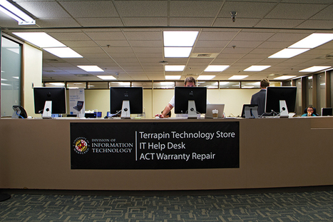 McKeldin Library desk offers centralized information technology services - Diamondback Online   Active Learning   Scoop.it