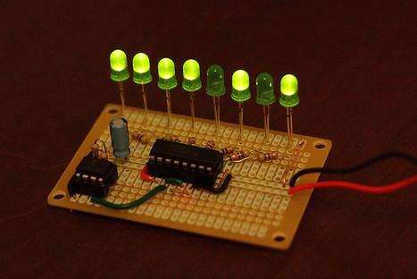 Binary counter   DIY Music & electronics   Scoop.it