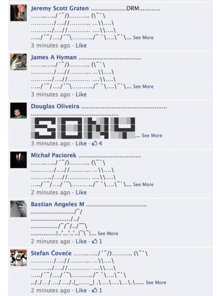 Microsoft's Xbox Facebook page Turns into Epic ASCII Art Flame War - The Next Web | ASCII Art | Scoop.it