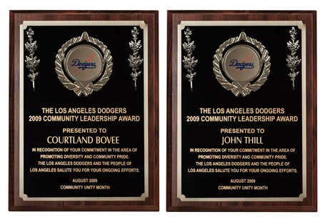 Bovee & Thill Honored by the Los Angeles Dodgers and the City of Los Angeles | News about Bovee & Thill | Scoop.it