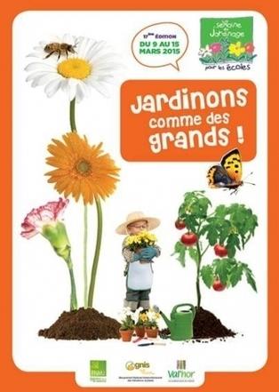 Des cours pour apprendre le jardinage écologique aux enfants | Chimie verte et agroécologie | Scoop.it