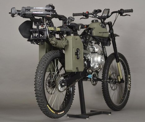 GEAR: Motopeds Survival Bike, aka, The Apocacycle! | Gear for Cyclists | Scoop.it