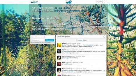 'Quitter' : une alternative anticapitaliste à Twitter   Réseaux sociaux numériques   Scoop.it