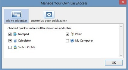 Easy Access add-on: Load Any Program from the Status Bar of Firefox | Time to Learn | Scoop.it