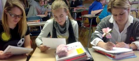 Students Enjoying Pen Pals As Part Of First-year Spanish 1 - The Message Online | Clase de Español | Scoop.it