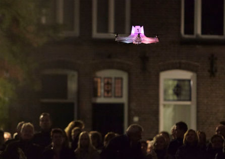 World's First Flying File-Sharing Drones in Action | Rise of the Drones | Scoop.it