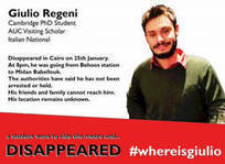 Tortured Italian student died 'slow death': Egypt official   Archaeology, Culture, Religion and Spirituality   Scoop.it