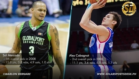 PBA Trade: Alex Cabagnot moves to GlobalPort, Sol Mercado to San Miguel Beermen - Solar Sports Desk | Philippine Basketball Association at its finest | Scoop.it