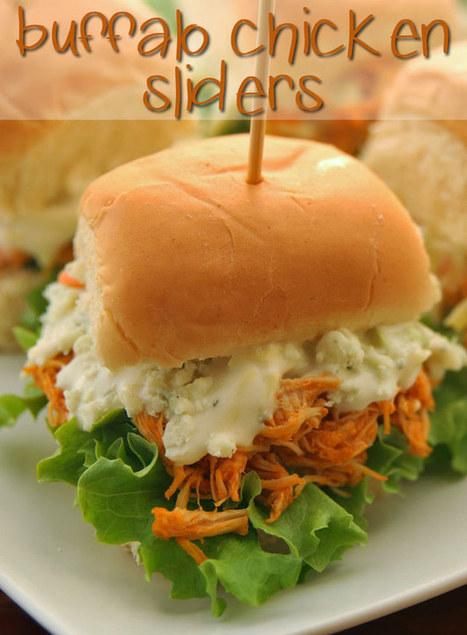 #Recipe : Buffalo Chicken Sliders | My Favorite Things | DIY & Crafts | Scoop.it