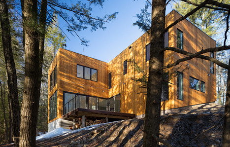 Studio MM Architect: Creek House – Studio MM Architects – Modern Architect New York, Residential Design – Upstate NY | Architecture and Architectural Jobs | Scoop.it