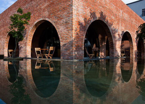 Wangstudio's F Coffee is a Vietnam cafe made up of 24 brick arches | Inspired By Design | Scoop.it