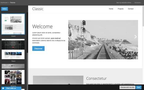 Pikock, créez votre site internet sans une seule ligne de code ! | Création de site internet - Orson | Scoop.it