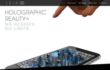 Altice et Leia veulent un smartphone à écran holographique | PROSPECTIVE DESIGN | Scoop.it