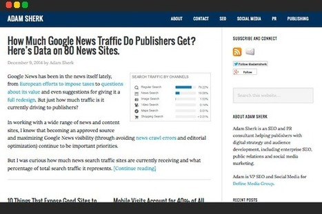 Top 100 SEO Blogs For Increasing Search Traffic | Content Creation, Curation, Management | Scoop.it