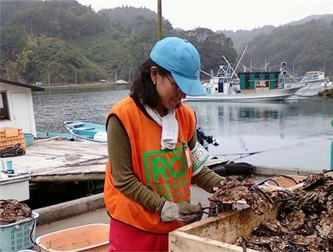 Saint-Christophe-du-Bois : les Japonaises Lika et Sola aident à effacer les traces du tsunami   ouest-france.fr   Japon : séisme, tsunami & conséquences   Scoop.it