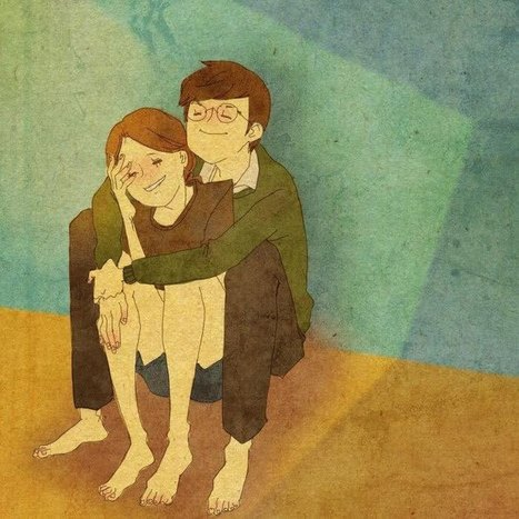 #Artist Beautifully #Captures What Real #Love Looks Like. #art #illustration | Luby Art | Scoop.it