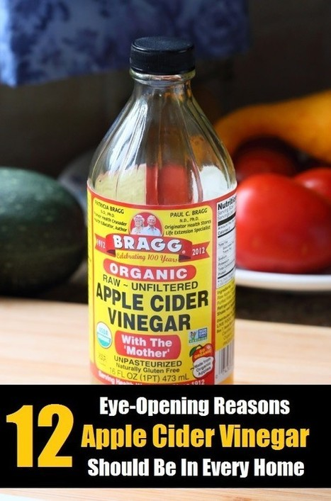 12 Apple Cider Vinegar Benefits - Why It Should Be In Every Home   Health and healing   Scoop.it