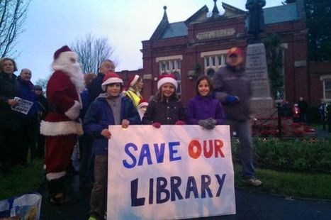 Whitchurch residents protest at plans to cut funding to their library | Libraries in Demand | Scoop.it
