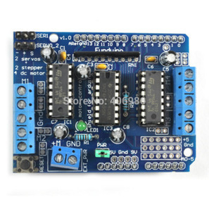 L293D  Motor Drive Shield for Arduino Duemilanove Mega / UNO-in Other Electronic Components   Raspberry Pi   Scoop.it