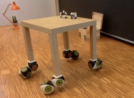 Video Friday: Robotic Furniture, Pizza by Drone, and Series Elastic Snake Robot | Robots in Higher Education | Scoop.it