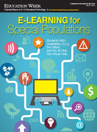 Education Week: Digital Edition: E-Learning for Special Populations | Leadership, Trust and e-Learning | Scoop.it