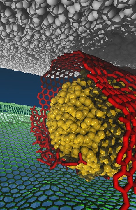 Simulations lead to design of near-frictionless material | Amazing Science | Scoop.it