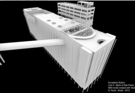 Análise 4D de modelos BIM facilita a tomada de decisões no projeto de duas estações do metrô de São Paulo | BIM em Português | Scoop.it