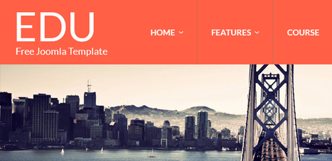75+ Best Responsive Free Joomla Templates | Designrazzi | Premium Themes Download | Scoop.it