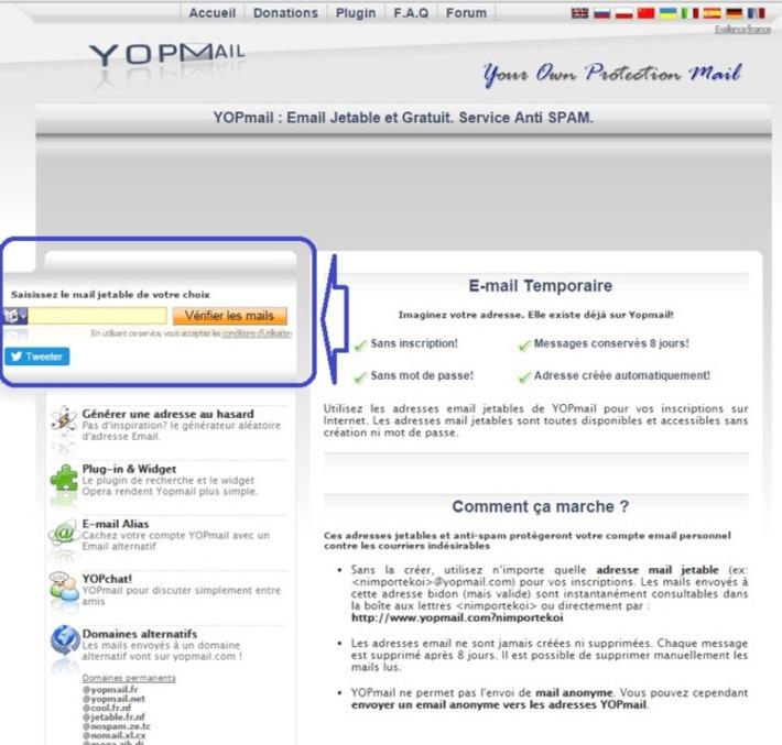 Lutter contre le Spam : créer une adresse mail jetable. | TIC et TICE mais... en français | Scoop.it