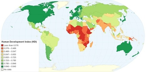 Human Development Index (HDI) | Geography Education | Scoop.it